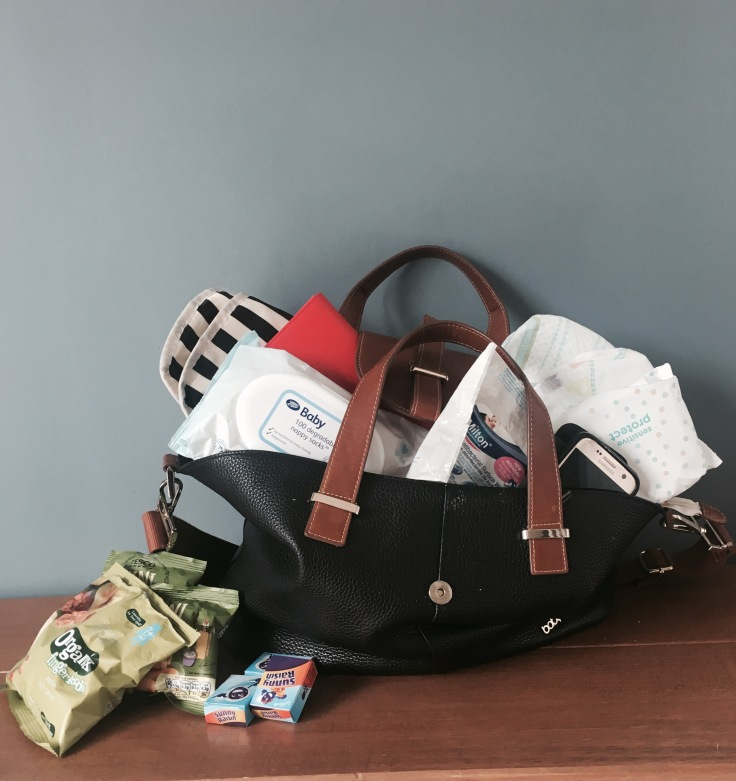 Changing-Bag-Full-Of-Essentials